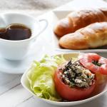 昨日のお昼😌💕#野菜をMOTTO #野菜をもっと #冷たいスープ #スープ #ベジMOTTO #簡単ベジ #monipla #monmarche_fanのInstagram画像