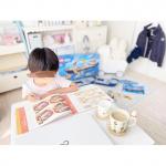 ୨୧┄┈┈┈୨୧‧⁺̣⋆̩·̩̩·̩̩⋆̩⁺̣‧୨୧┈┈┈┈୨୧**在宅勤務の日𓂃𖠿 𖠋息子も隣でお勉強してます✎おすしドリル、イラストが全部お寿司でかわいいの♡まちがいさがし…のInstagram画像