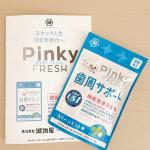 Pinky FRESH(ピンキーフレッシュ)LS1 クリーンミント味 60粒ピンキーはよく学生時代によく食べていてお世話になっていました。機能性表示食品として生まれ変わったのがこのピンキー…のInstagram画像