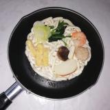 なべやき屋キンレイ「お水がいらない 鍋焼うどん」の画像(7枚目)