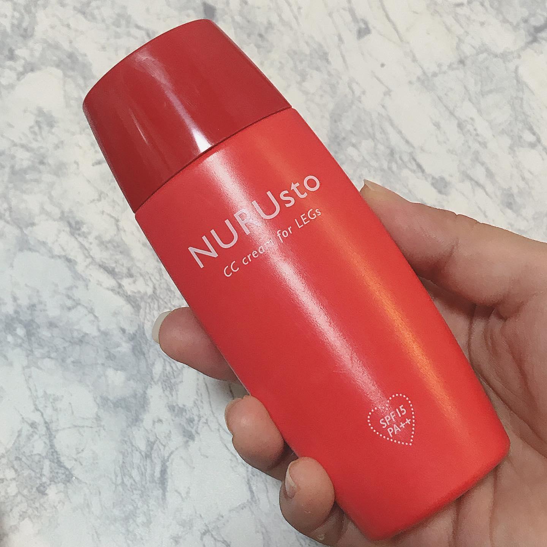 口コミ投稿:NURUsto(ヌルスト)脚用CCクリーム▶︎テクスチャサラサラっとした日焼け止めみたいだ…