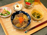 頂いたにたき一番使って牛丼〜簡単に美味しくできた☺️#ホシサン #簡単レシピ #時短レシピ #時短料理 #おうちごはん #和食ごはん #料理好きな人と繋がりたい #monipla #hos…のInstagram画像