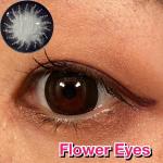 デカ目に盛れる👁👀【Flower Eyes】@beau_f.info 色; アマリリス・ブラック全10種類のFlower EyesワンデーBC: 8.6mm…のInstagram画像