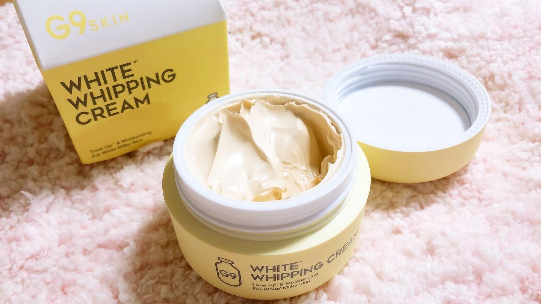 口コミ投稿:WHITE WHIPPING CREAM  #LEMON YELLOWG9ウユクリーム(牛乳クリーム)から数量限定…