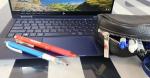 *夫にも使ってもらっている・・G-TUNE by GLENFIELD 日本製撥水レザーポーチ・・夫は仕事用のペンケースな社員カードなどを入れて使っています。…のInstagram画像