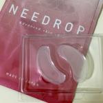 ♡マイクロニードル化粧品の【NEEDROP】角質の深層部にヒアルロン酸を直接届けてくれるらしい✨袋を開けてみてびっくり❣️美容液でひたひたなのかと思ったら、水分がない。シートには粘…のInstagram画像