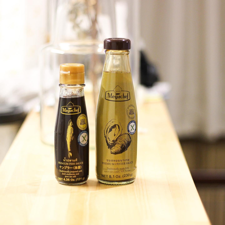口コミ投稿:タイの調味料ブランド「メガシェフ」のオイスターソースとナンプラー✨こちらの2つを…