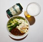 ・・・〜ロコモコ&ピルスナー〜 ・・・・・・・・残暑の夜はビールでクールダウン🍻今回はダルグナー ピルスナーとロコモコでペアリングしました。こちらのビールはドイツ産…のInstagram画像