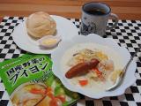 栄養満点♪ ウインナーソーセージとたっぷり野菜のミルクスープの画像(4枚目)