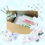 『アスミール』𖠚໊ココア 𖠚໊ハッピーチ𖠚໊いちごミルク𖠚໊メロメロン包装もしっかりで小袋に分けて4種類の味が届きました(専用スプーン付)👏( ˘ω˘ )牛乳と…のInstagram画像