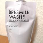 『ブレスマイル マウスウォッシュ』口臭防止、歯周病予防♡いつもの歯磨きだけだとお口の健康が心配なので、朝起きた時と寝る前にマウスウォッシュしてます♪低刺激のメントールなので、痛…のInstagram画像