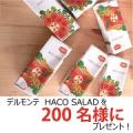 【デルモンテ】 HACO SALAD(ハコサラダ)を200名様にプレゼント!/モニター・サンプル企画