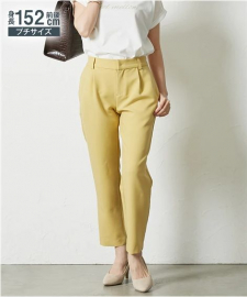 株式会社ニッセンの取り扱い商品「小さいサイズ 春色テーパードパンツ」の画像