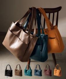 株式会社ニッセンの取り扱い商品「多収納ポケットトートバッグ」の画像
