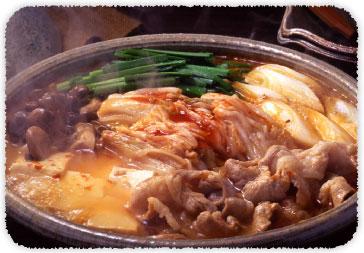 【おすすめレシピ】キムチチゲ鍋