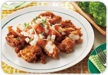【おすすめレシピ】パリパリ鶏のうま辛揚げ