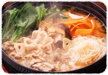 【おすすめレシピ】豚肉とたっぷりほうれん草の中華ごま油鍋