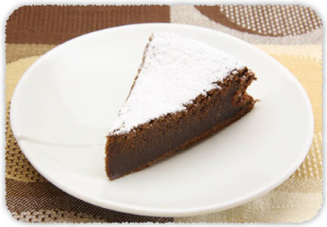 【おすすめレシピ】しっとりガトーショコラ