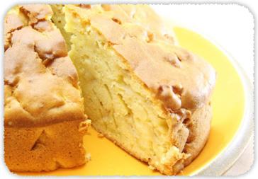 【おすすめレシピ】オリーブオイルとりんごケーキ