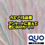 ニッケンかみそり株式会社の取り扱い商品「モニター品及びモニターアンケートの回答者様へQUOカード」の画像
