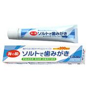 歯みがき専用塩を50%配合★ソルトで歯みがき(ねりタイプ) モニター募集10名様