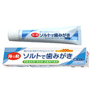 歯みがき専用塩を50%配合★ソルトで歯みがき(ねりタイプ) モニター募集5名様