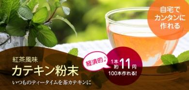 目指せ燃焼系ボディ☆「紅茶風味♪茶カテキン粉末」