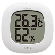株式会社ドリテックの取り扱い商品「デジタル温湿度計「ルミール」」の画像