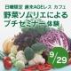 イベント「9/29 『週末AGEレスカフェ』 野菜ソムリエによるプチセミナー モニター募集」の画像