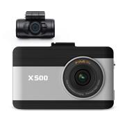 FINEDIGITAL Inc.の取り扱い商品「ドライブレコーダー X500 32GB 前後2カメ ラフルHD メモリ2倍保存!」の画像