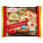 マルハニチロ株式会社の取り扱い商品「マルハニチロ「うす焼きピッツァトマトとモツァレラチーズ」2枚」の画像