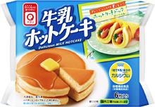 【アクリフーズ】牛乳ホットケーキ6枚入り/10枚入り
