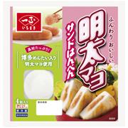 一正蒲鉾株式会社の取り扱い商品「明太マヨサンドはんぺん」の画像
