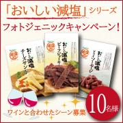 【フォトジェニックキャンペーン!】「おいしい減塩」シリーズ【10名様】