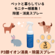 【ペットと一緒に暮らしているモニター様募集】消臭除菌スプレー/モニター・サンプル企画