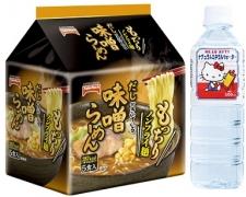 テーブルマーク株式会社の取り扱い商品「袋麺・ミネラルウオーター」の画像