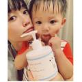 【親子写真を大募集♪】ママも赤ちゃんも仲良く使える乳液☆
