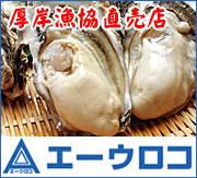 北海道厚岸(あっけし)漁業協同組合直売店 エーウロコ