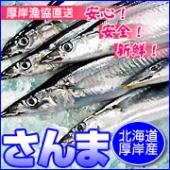 北海道厚岸産 鮮さんま(お刺身用)