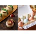 北の白いプリン「サルルン」と黒翡翠鶏の「水芭蕉卵」詰合せ 5名様 /モニター・サンプル企画