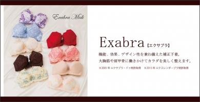 バストを育てる補正下着「エクサブラ公式通販サイト」