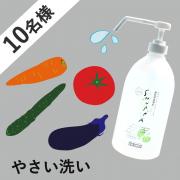 「【野菜の汚れや農薬をおとすお水】『SHUPPAやさい1000ml』10名様募集! 」の画像、ドウム非化学洗浄水株式会社のモニター・サンプル企画