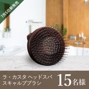 7月5日新発売!ラ・カスタのスキャルプブラシで頭皮ケア!モニター募集