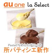 au one la Select(ラ・セレクト) 所パティシエのフローズンプリン