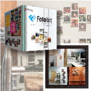 スクエア型ドッキングフォトフレーム「Fotobit」