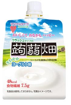 クラッシュタイプの蒟蒻畑 ヨーグルト味