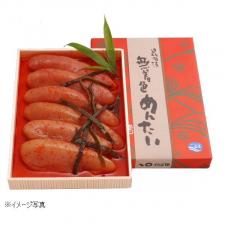 株式会社かば田食品の取り扱い商品「無着色昆布漬辛子めんたい」の画像
