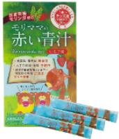 マイナチュラ株式会社の取り扱い商品「モリママの赤い青汁(3包入り)」の画像