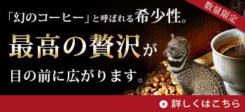 エクーア シベットコーヒー(ジャコウネココーヒー、コピルアク)