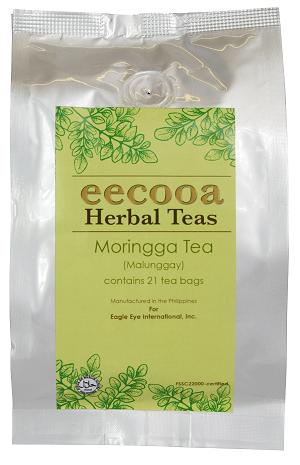 エクーア モリンガ茶 ティーバッグ 21包